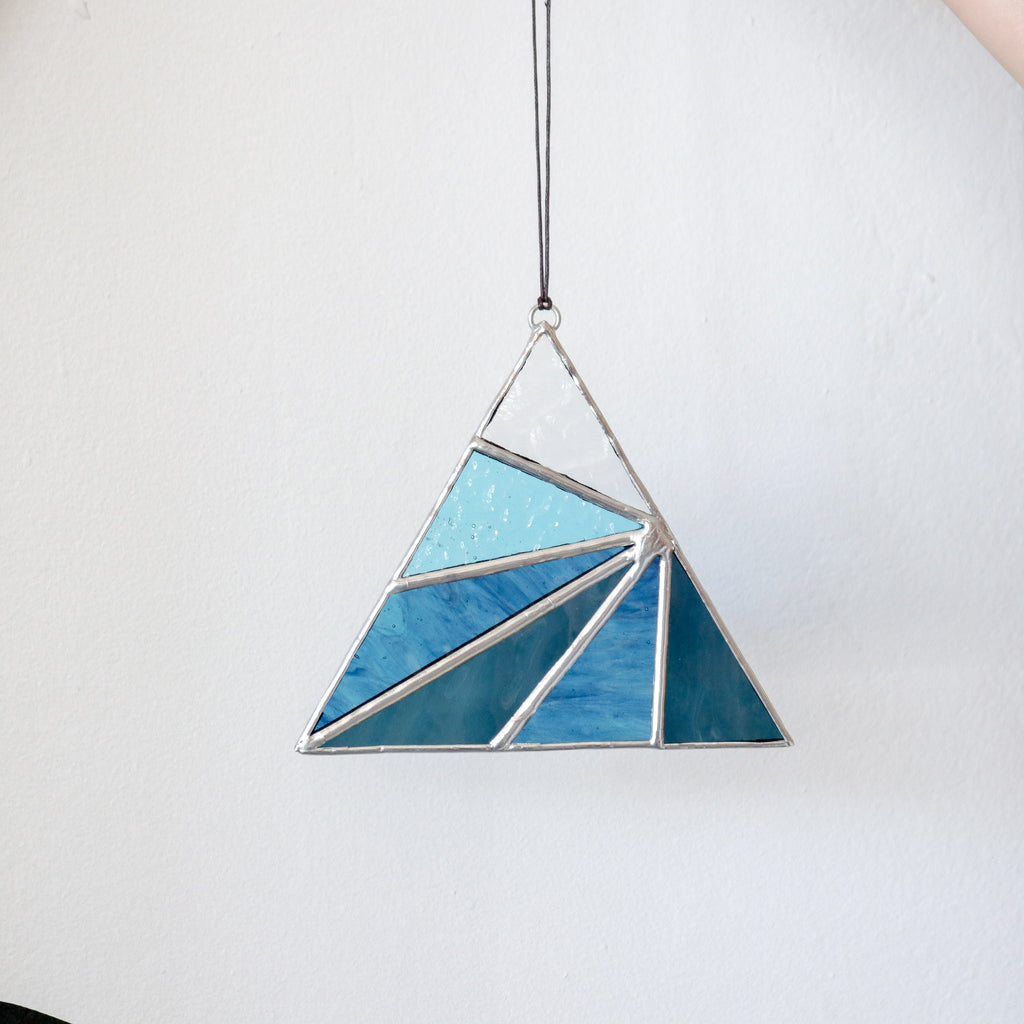 Afternoon Sun : Triangle Suncatcher #1