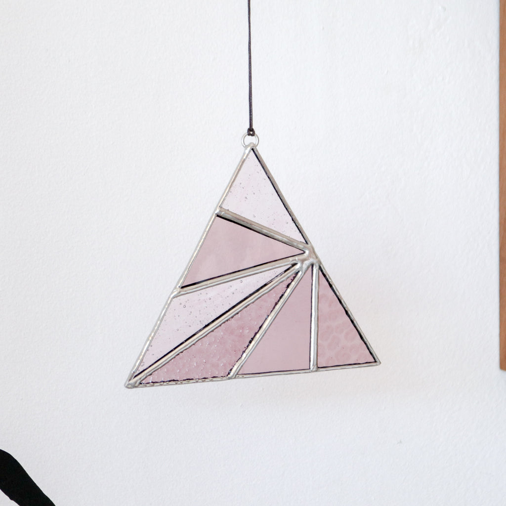 Afternoon Sun : Triangle Suncatcher #8