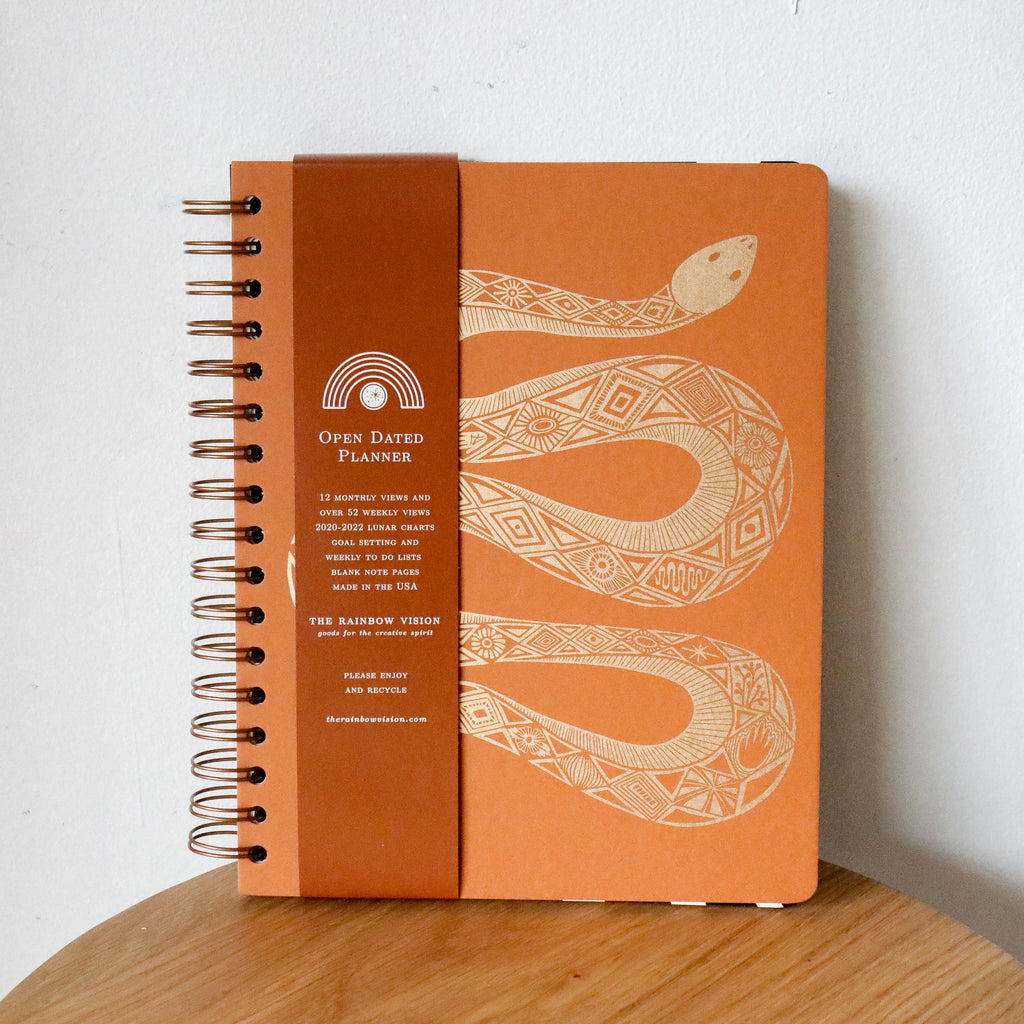 The Rainbow Vision : Serpentine Open Date Planner