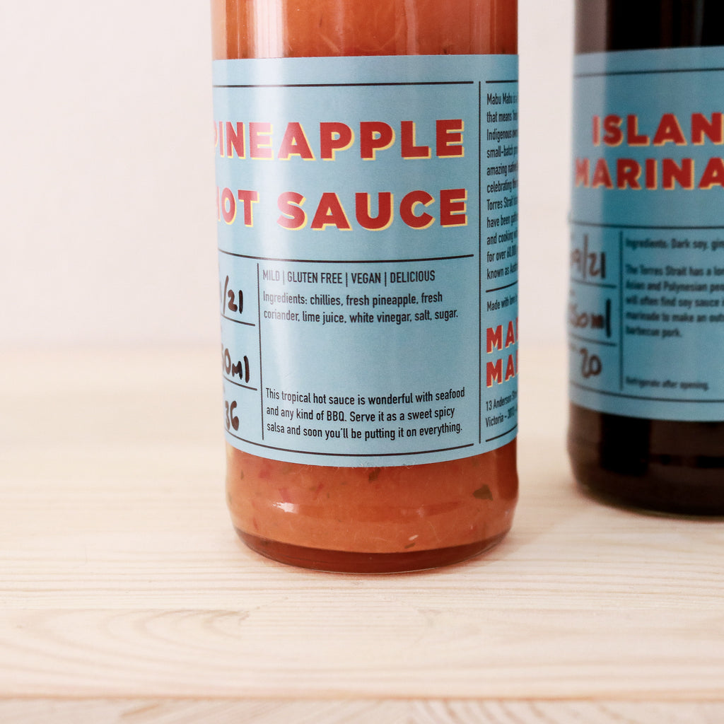 Mabu Mabu : Pineapple Hot Sauce