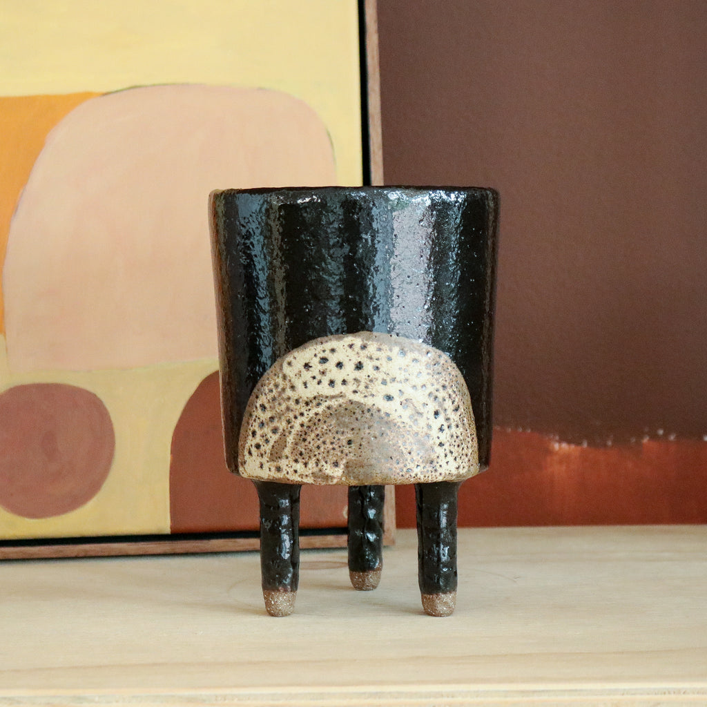 Peta Armstrong : Moonrise Planter with Legs