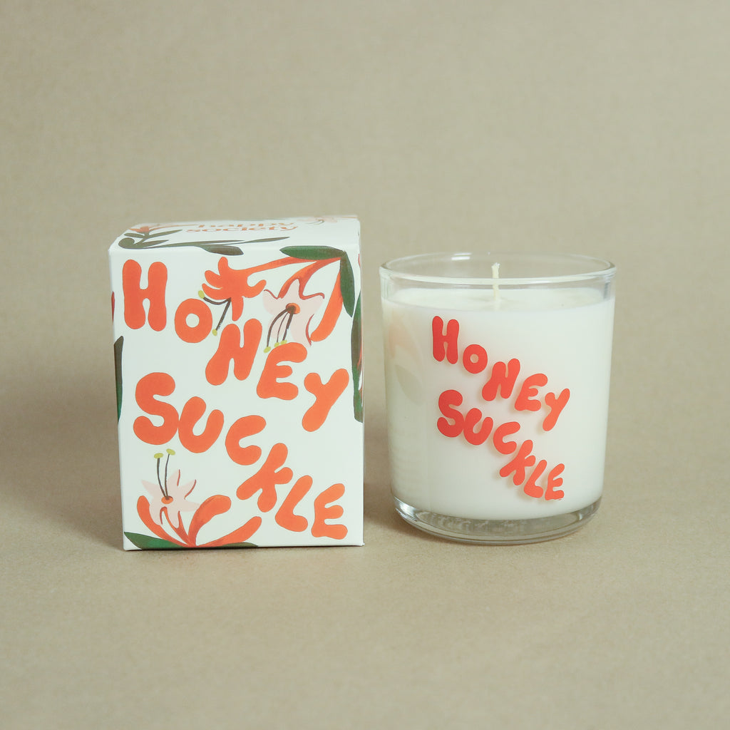 Happy Society : Honey Suckle Candle