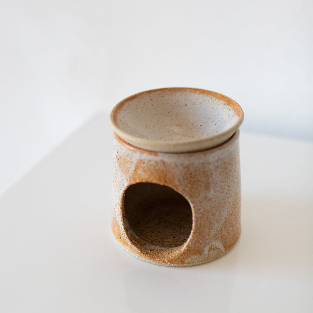 Kumhara Clay : Oil Burner (Sand)