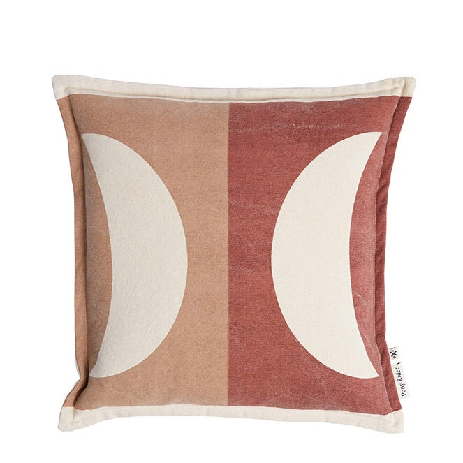 Pony Rider : Moonrise Cushion Plum Desert