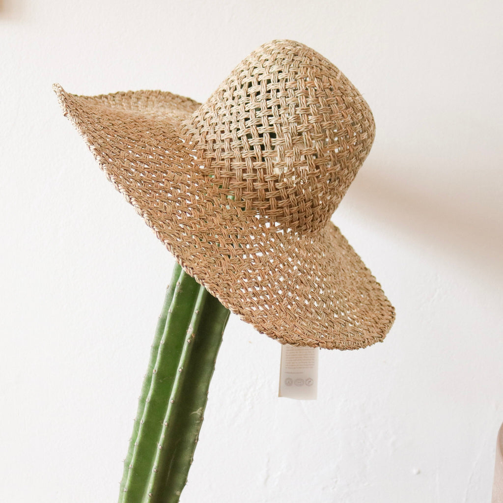 Will and Bear : Summer Seagrass Hat