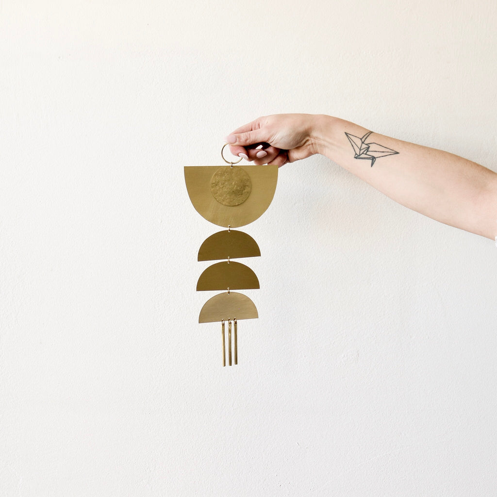 Juno + Ace : Nova Brass Wall Hanging