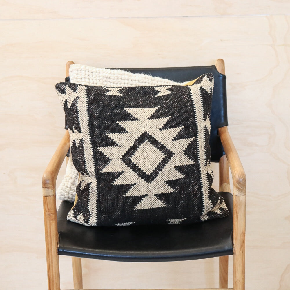 Aztec Handwoven Kilim Cushion #2