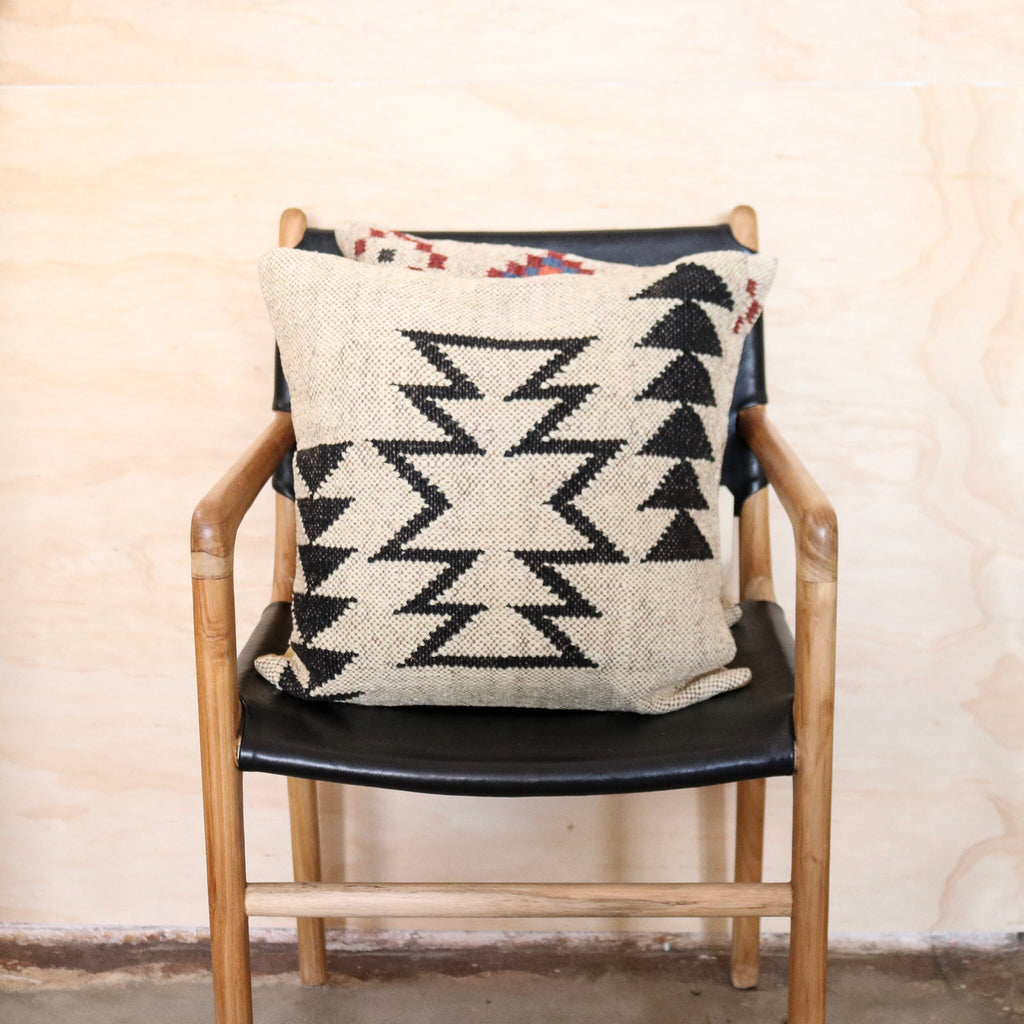 Aztec Handwoven Kilim Cushion #6