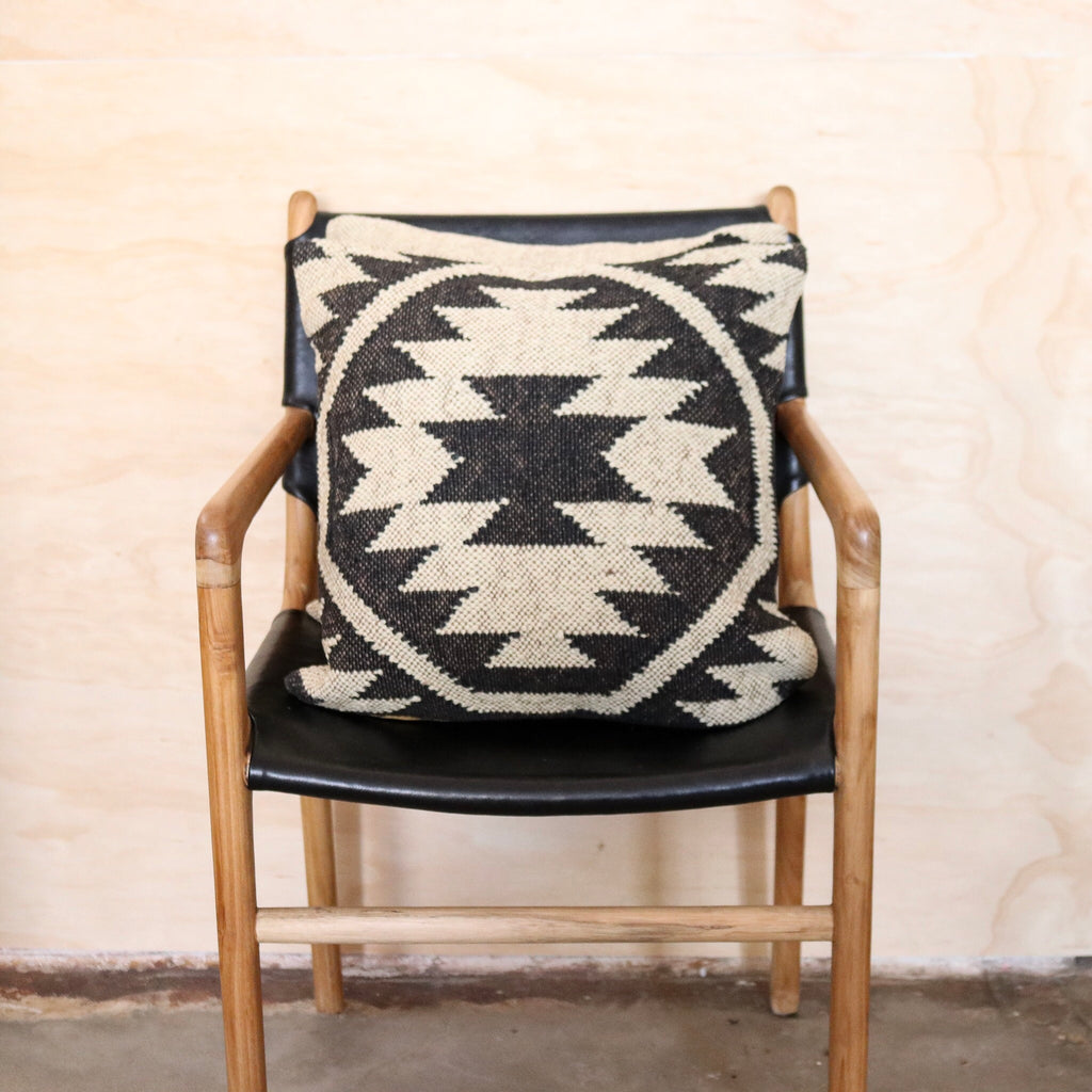 Aztec Handwoven Kilim Cushion #5