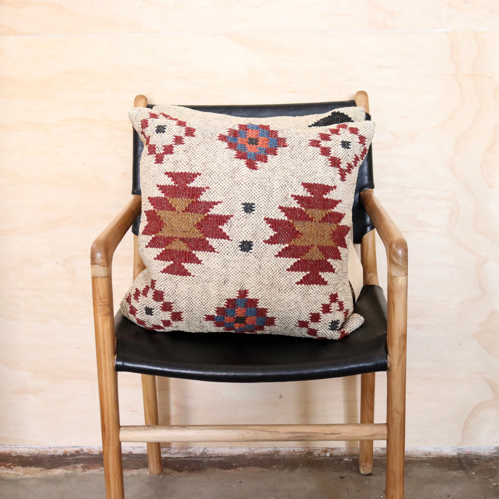Aztec Handwoven Kilim Cushion #4