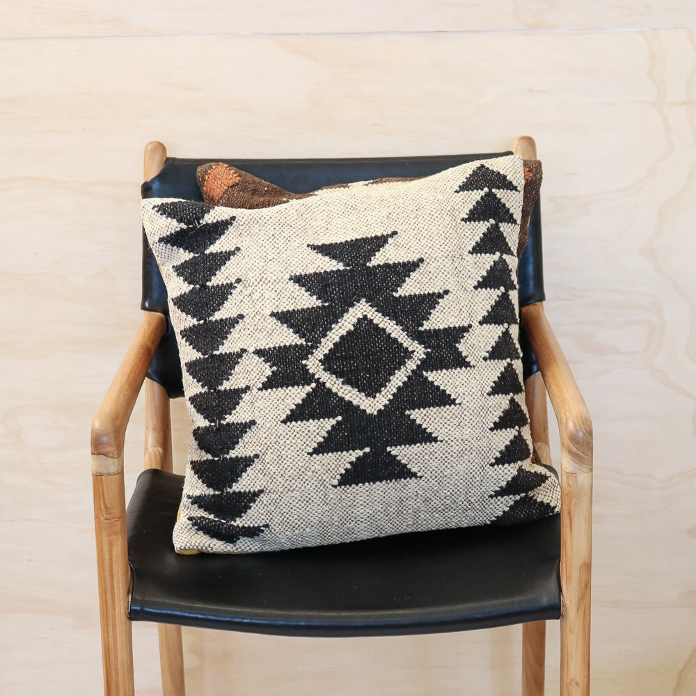 Aztec Handwoven Kilim Cushion #3