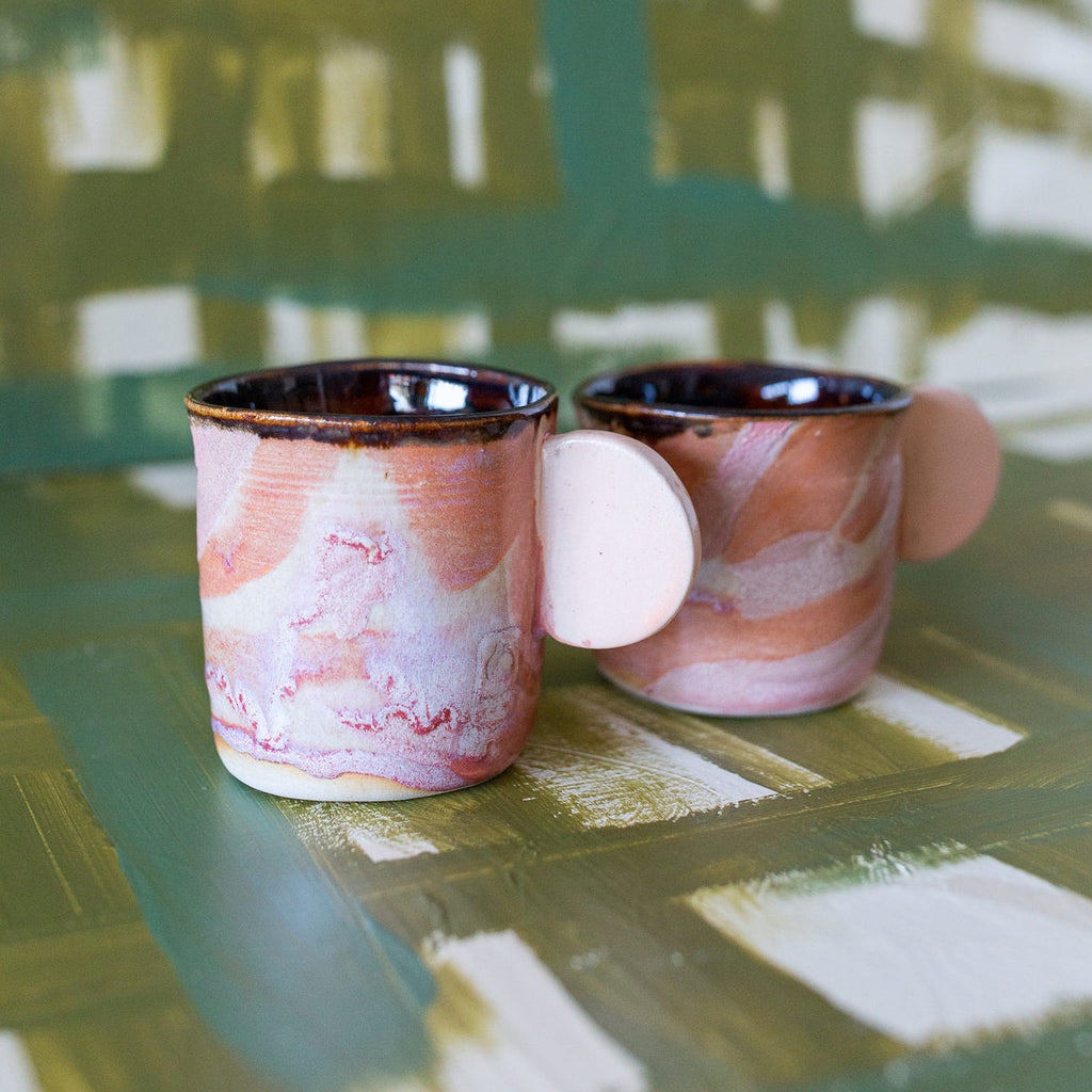 Peacharoo : Abstract Circle Mug