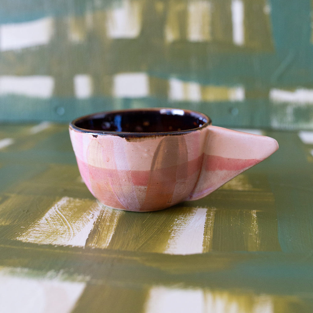 Peacharoo : Plaid Angle Mug