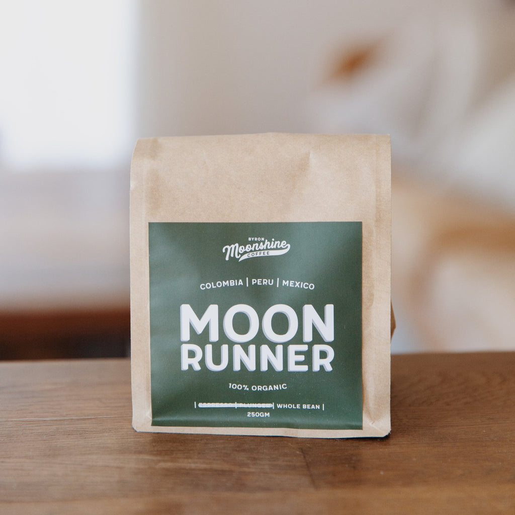 Moonshine Coffee : Moon Runner Organic Blend