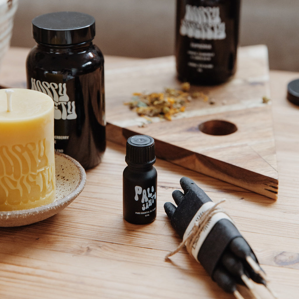 Happy Society : Palo Santo Essential Oil Blend