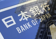 Bank of Japan Sign