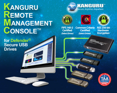 Kanguru stands as world's only trusted source for fully-integrated hardware/software remote management security