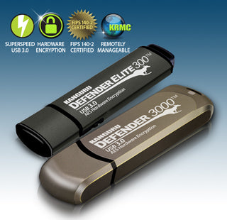 Kanguru adds SuperSpeed USB 3.0 technology to Defender® Collection of secure hardware encrypted USB flash drives