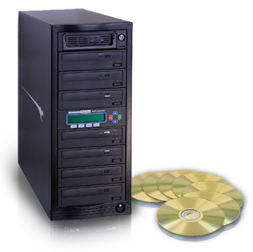 7 Target, 24x Kanguru DVD Duplicator with Internal Hard Drive