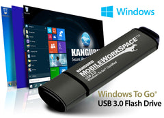 Microsoft Windows to Go, Kanguru Mobile WorkSpace USB flash drive