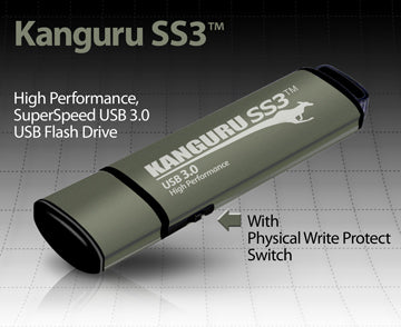 Kanguru SS3™ with Physical Write Protect Switch