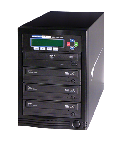 1-to-3, 24x Kanguru DVD Duplicator