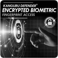 Kanguru Defender Bio-Elite30 Biometric fingerprint drive hardware encryption