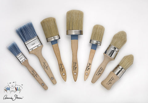 Annie Sloan Paint and Wax Brushes