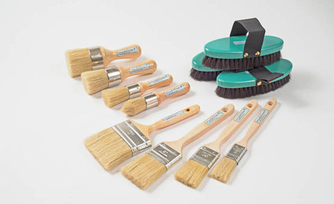 Madeline Paint & Wax Brushes