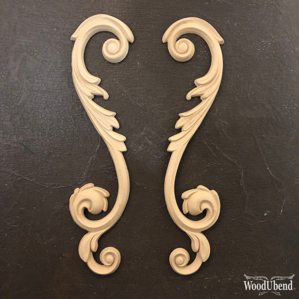 Large Scroll Pair WUB1242