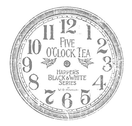 "12"" Clock IOD Decor Transfer™"