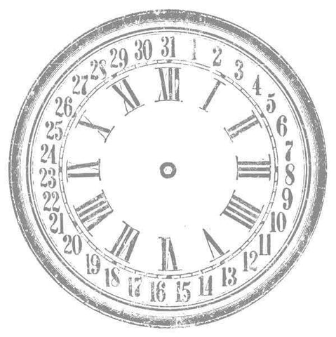 "28"" Clock IOD Decor Transfer™"
