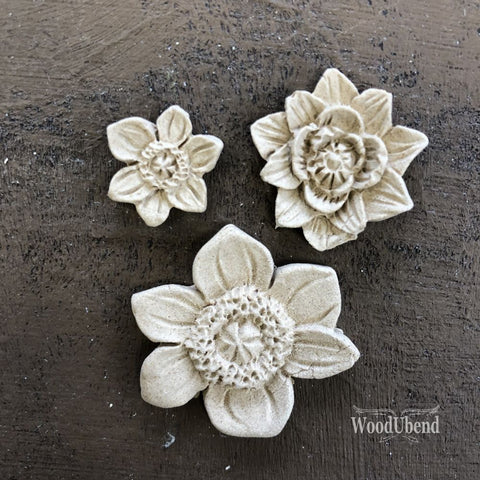 Flower Set of 3 Pieces WUB0464