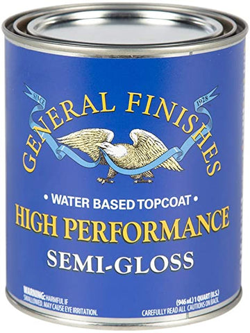 High Performance Polyurethane Water Based Topcoat SEMI GLOSS