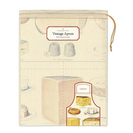 Cheese Vintage Apron