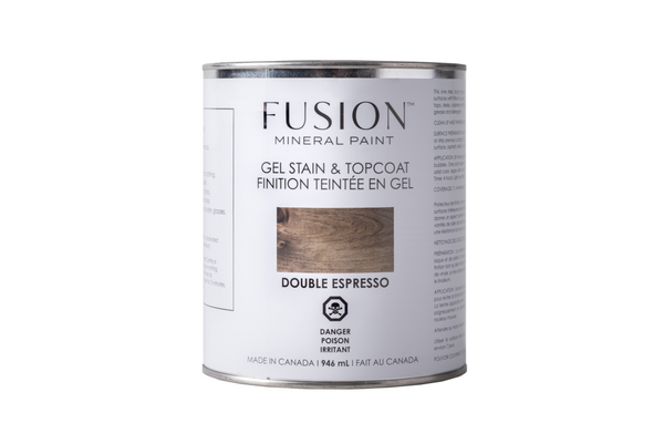Fusion Gel Stain and Topcoat - 4 colours