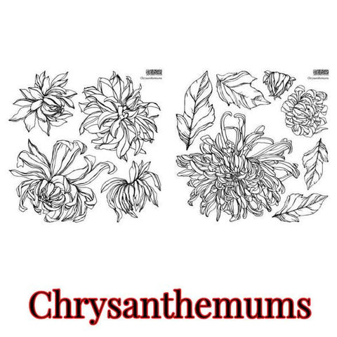 PRE ORDER *NEW* Chrysanthemoms IOD Stamp