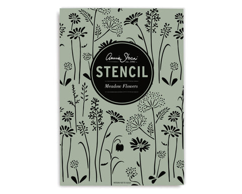 *NEW* Annie Sloan Meadow Flowers Stencil