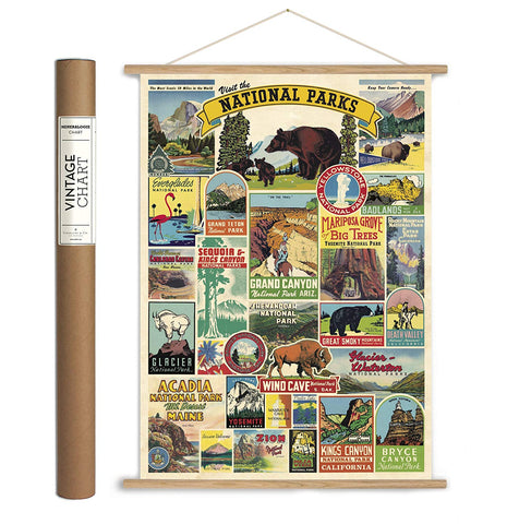National Parks Paper + Hanging Kit