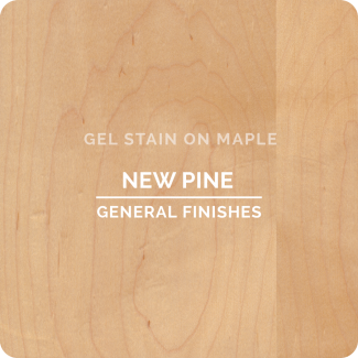 New Pine Gel Stain