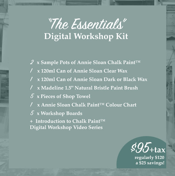 Digital Workshop: Introduction to Chalk Paint™