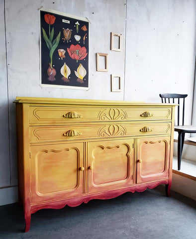 Warm & Spicy Vintage Sideboard