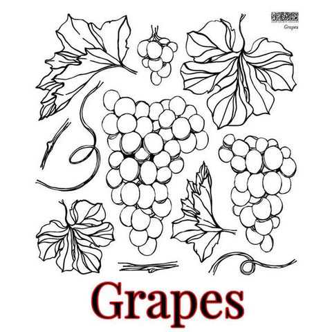 PRE ORDER *NEW* Grapes IOD Stamp