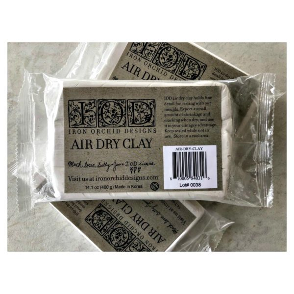 NEW IOD Air Dry Clay