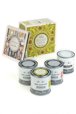 Annie Sloan with Charleston: Decorative Paint Set in Firle