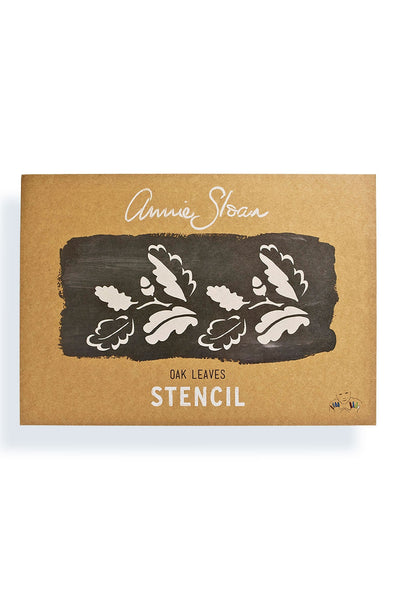 Annie Sloan Oak Leaves Stencil