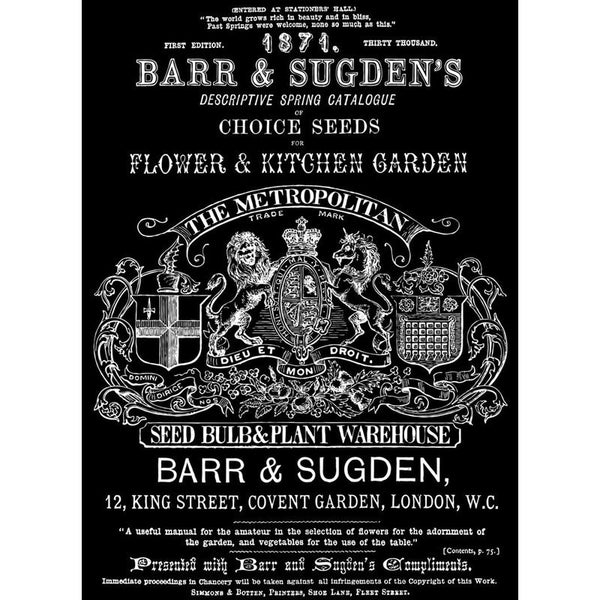'Barr & Sugden' IOD Decor Transfer™