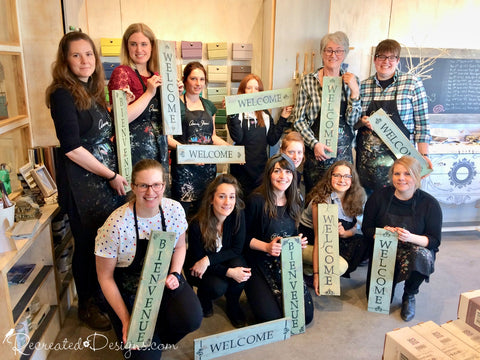 Private Sign Making Workshops