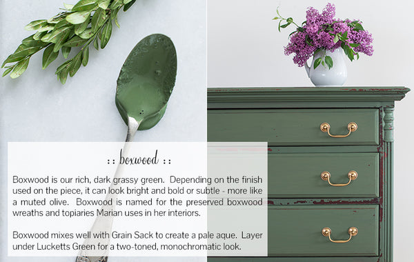 MMS Milk Paint Boxwood