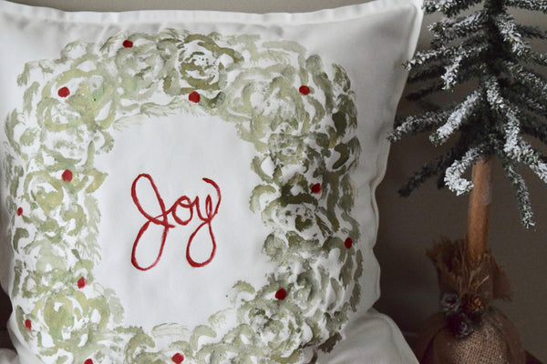 Christmas Pillow Cover Workshop